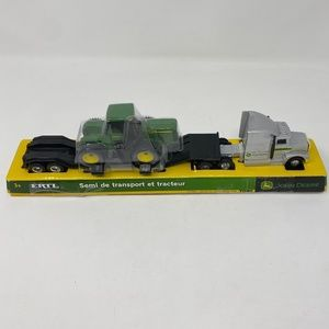 NEW John Deere Hauler Semi truck and tractor TOMY